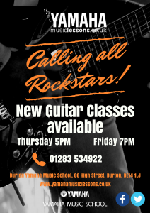 New Guitar Classes Feb 18