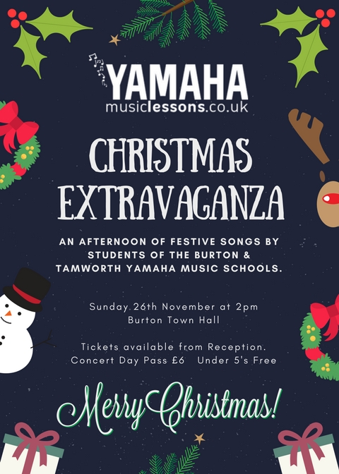 Xmas Concert Poster